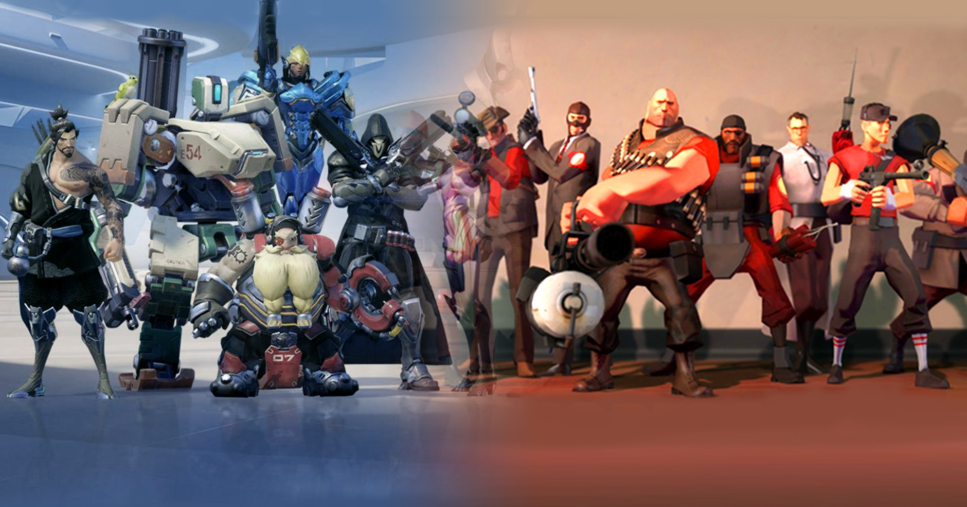 TF2 vs. Overwatch: The Test of Time - Esports Edition